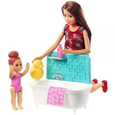 Set Barbie By Mattel Family Skipper Babysitter imagine