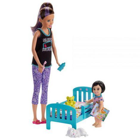 Set Barbie by Mattel Family Skipper Mergem la nani