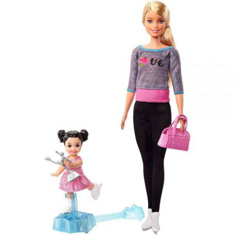 Set Barbie By Mattel I Can Be Sport 2 Papusi Cu Accesorii Fxp38 imagine