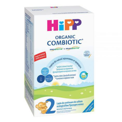 Lapte HiPP 2 Combiotic Lapte de continuare 300g