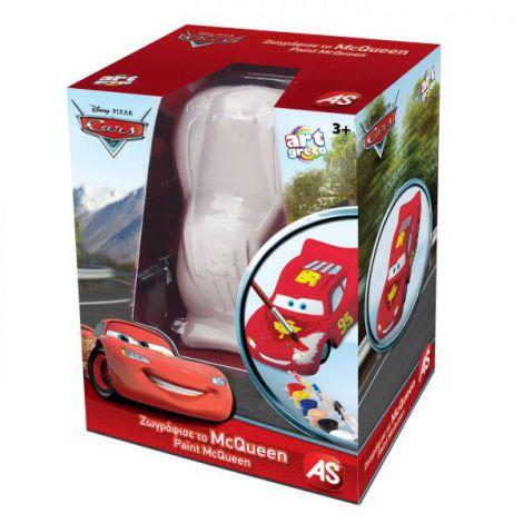 Figurina Cars Mcqueen Pentru Desenat 3d imagine