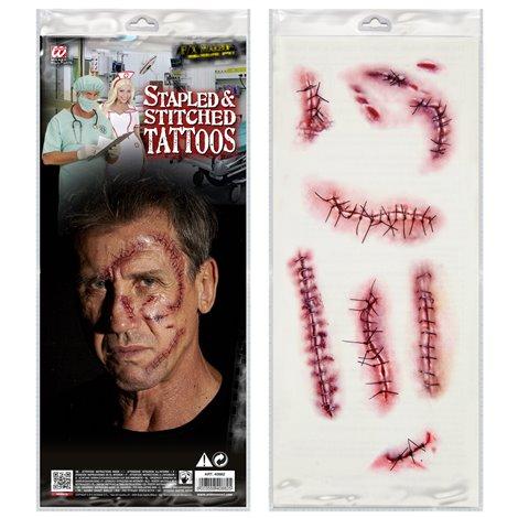 Tatuaj halloween cicatrici