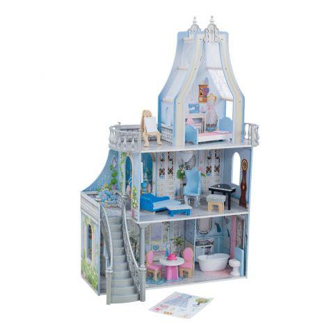 Castel din lemn pentru papusi Magical Dreams
