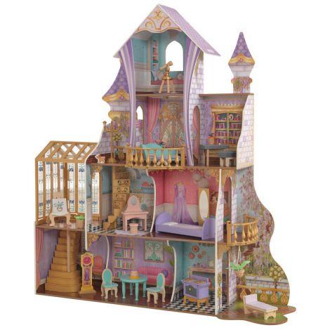 Castel Din Lemn Pentru Papusi Enchanted Greenhouse imagine