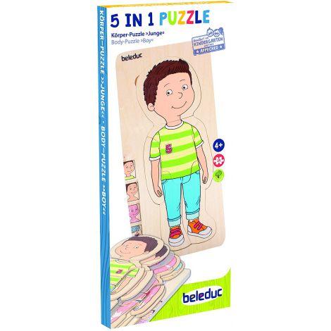 Puzzle Educativ Stratificat Baiatul imagine