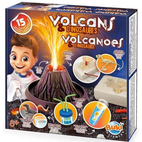 Kit educativ de joaca Vulcani si Dinozauri