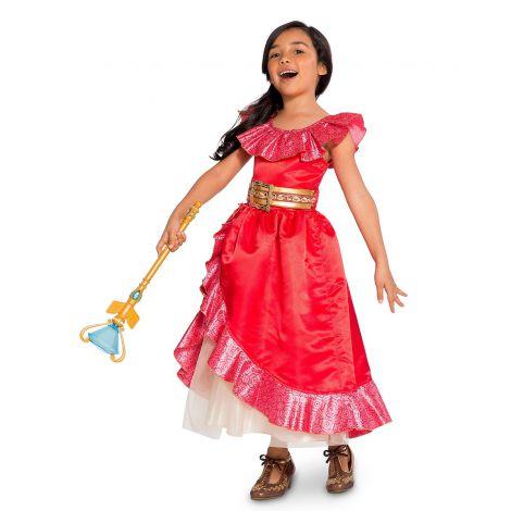 Costum elena avalor 5-6 ani - marimea 128 cm