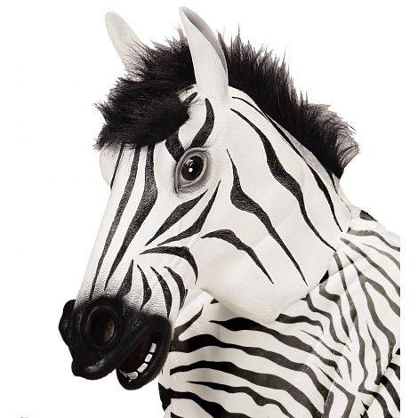 Masca zebra latex