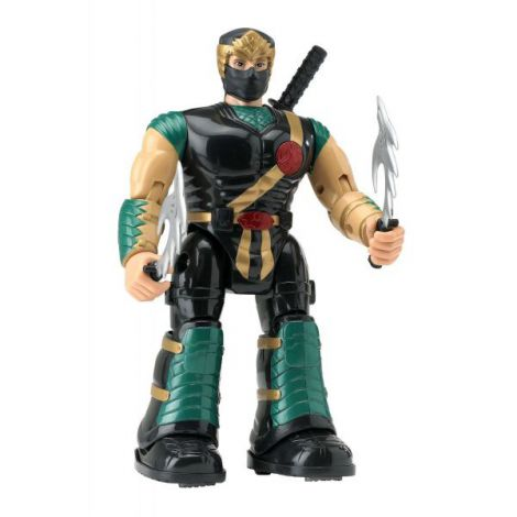Figurina Ninja Cu Accesorii imagine