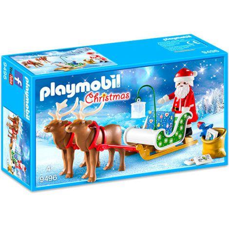 Sania Lui Mos Craciun Cu Reni 9496 Playmobil imagine