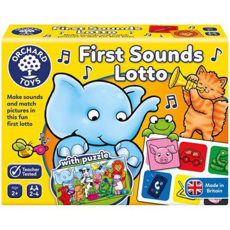 Joc educativ loto Primele sunete FIRST SOUNDS LOTTO