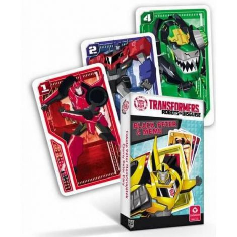 Carti De Joc Transformers Black Peter