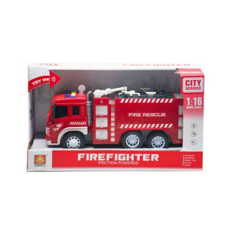 Masinuta Pompieri Cu Functiuni Fire Rescue Scara 1 La 16