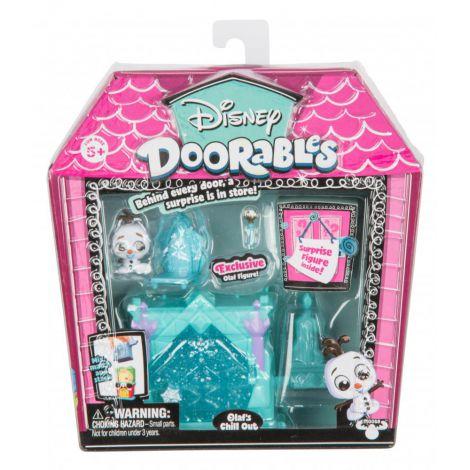 Doorables s1 mini set joaca 2 figurine si accesorii - olaf
