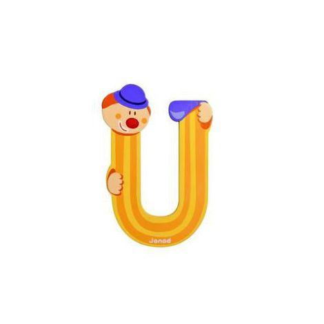 Clown litera u