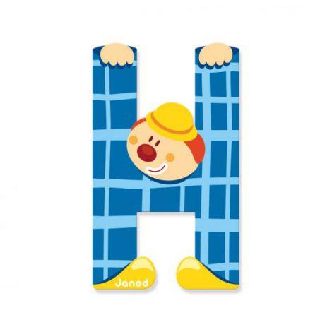 Clown litera h