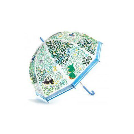 Umbrela Djeco pentru adulti, flori si pasari