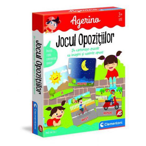 Joc Educativ Agerino Jocul Opozitiilor