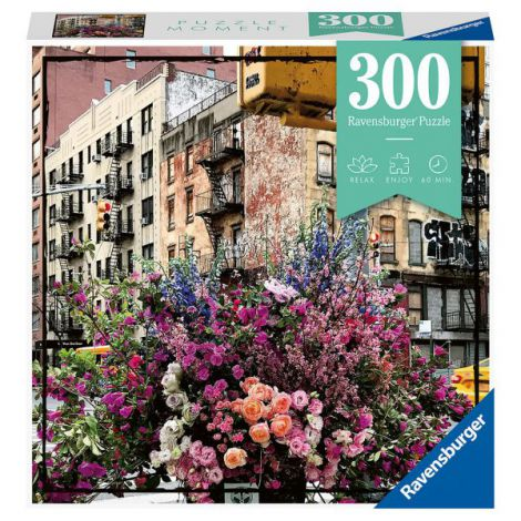 PUZZLE FLORI IN NEW YORK, 300 PIESE