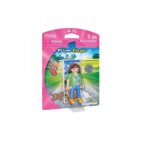 Figurina fetita cu pisicute PM70562 Playmobil