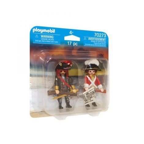Set 2 figurine pirat si soldat PM70273 Playmobil