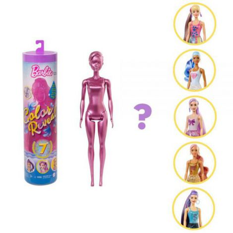 Papusa Barbie by Mattel Color Reveal