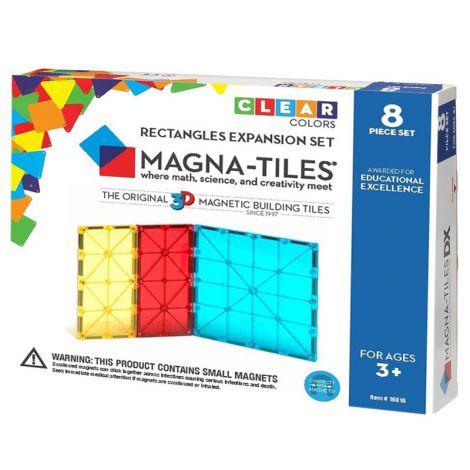 Magna-Tiles Extensie Dreptunghiuri (8 piese)