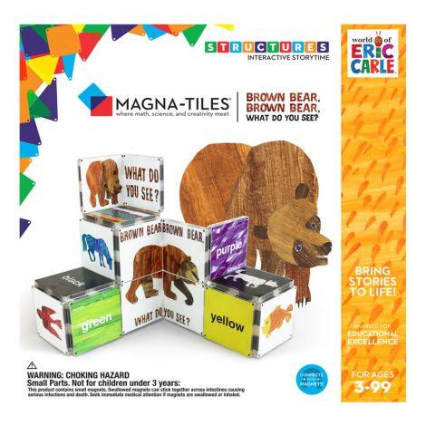 Ursule brun, tu ce vezi?, Eric Carle, Magna-Tiles Structures