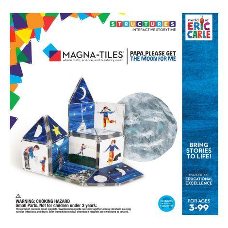 Tati, adu-mi luna de pe cer, Eric Carle, Magna-Tiles Structures