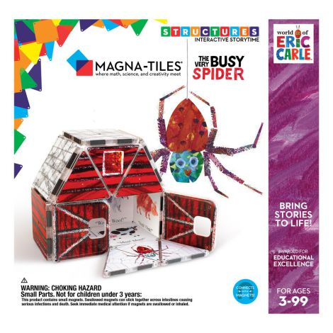 Paianjenul cel harnic, Eric Carle, Magna-Tiles Structures