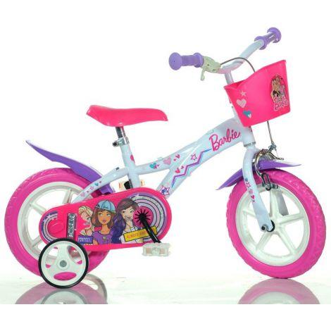 Bicicleta fetite 3-5 ani Barbie 12 Dino Bikes DN612GL