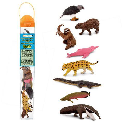 Tub cu figurine Animale din America de Sud