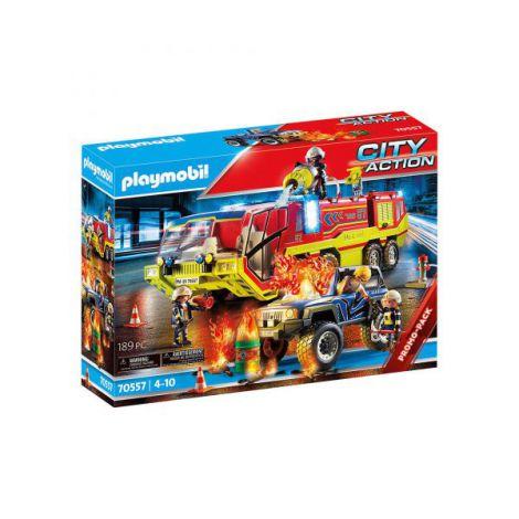 Masina si camion de pompieri PM70557 Playmobil