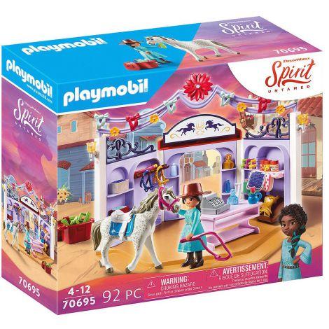 Magazin accesorii cai in miradero PM70695 Playmobil Spirit