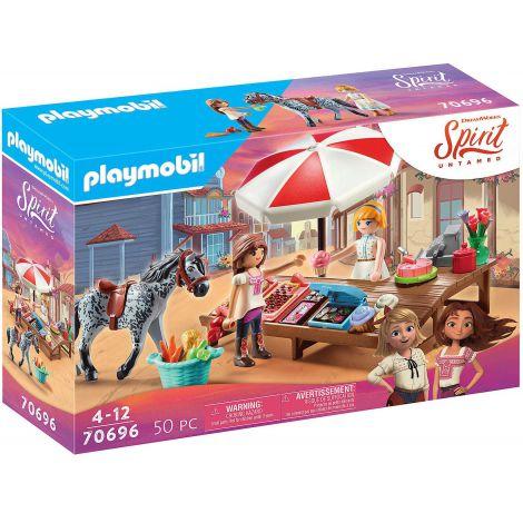Stand cu prajituri in Miradero PM70696 Playmobil Spirit