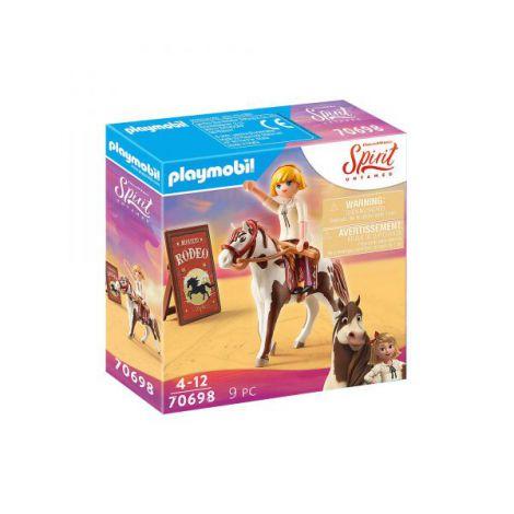 Rodeo cu Abigail si Boomerang PM70698 Playmobil Spirit