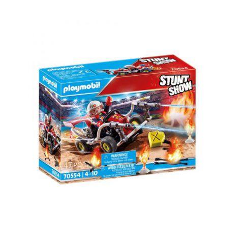 Stunt show - vehicul de stins incendii PM70554 Playmobil