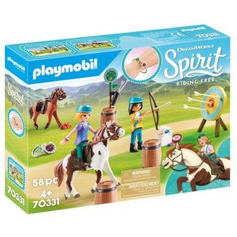 Caluti si lectii de tras cu arcul PM70331 Playmobil Spirit