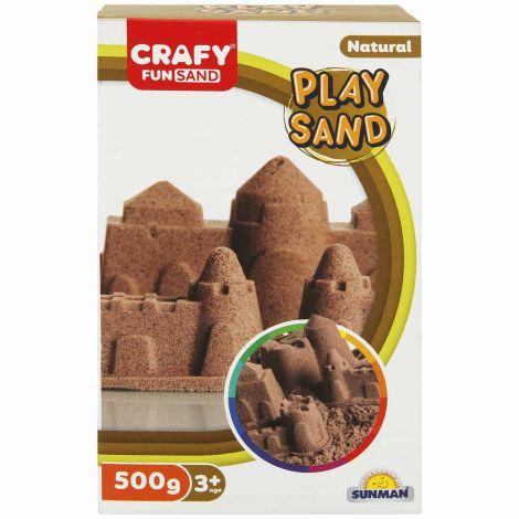Nisip kinetic Fun Sand 500 gr culoare Natur