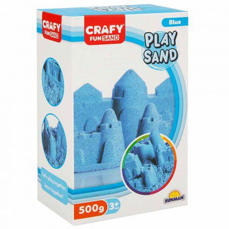 Nisip kinetic Fun Sand 500 gr culoare Albastru