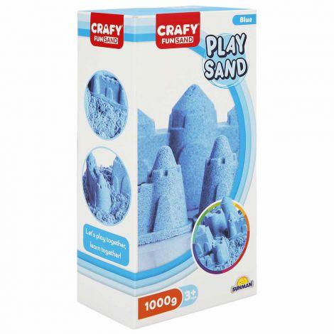 Nisip pentru modelaj Fun Sand 1000 gr culoare Albastru