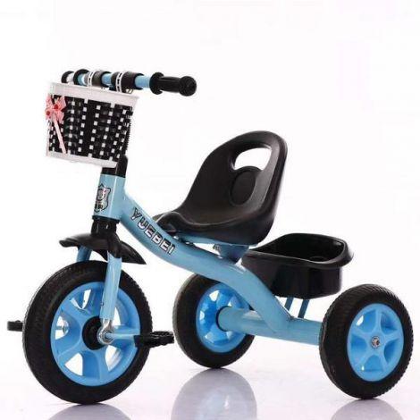 Tricicleta cu manere non alunecare sa si vopsea eco pedale non alunecare roti spuma EVA capacitate maxima 35 kg Dimensiuni 70*