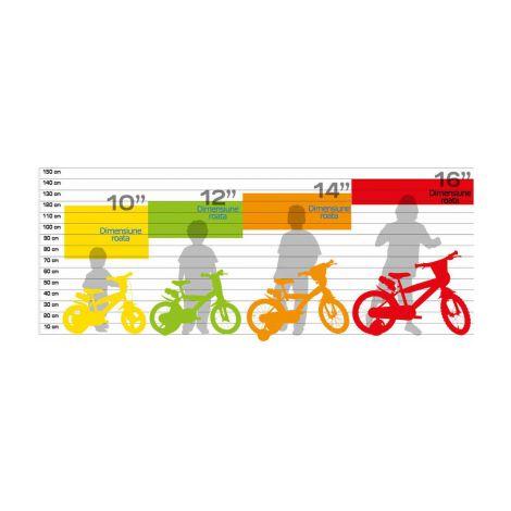 Bicicleta copii 14 rn