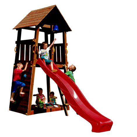 Spatiu de joaca din lemn Belvedere BlueRabbit 2.0