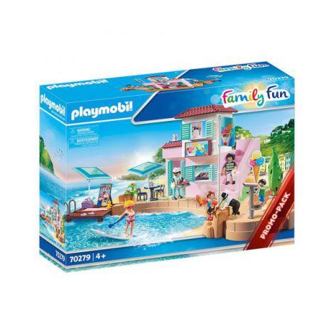 Magazin de inghetata pe plaja PM70279 Playmobil