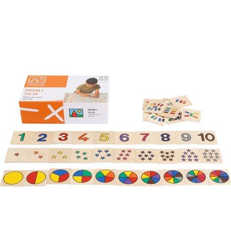 Joc Educativ De la 1 la 10