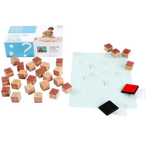 Joc Educativ Stampile cu litere