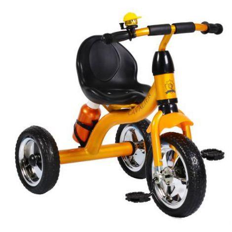 Tricicleta cu Pedale Cavalier Portocalie
