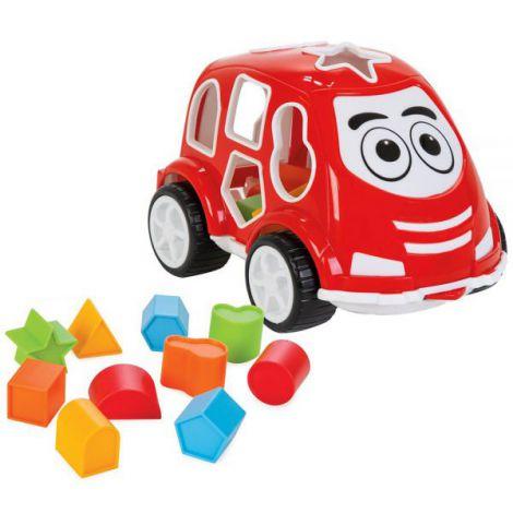Jucarie cu sortator Pilsan Car red