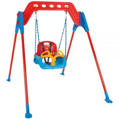 Leagan pentru copii Pilsan Samba A-Frame Swing cu cadru metalic